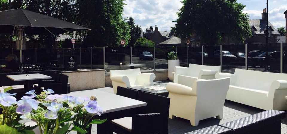 The Terrace at the Heathmount Inverness