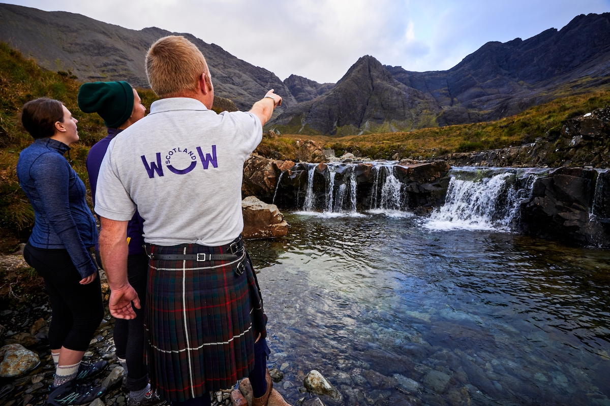 Day tours to the Isle of Skye from the Heathmount Hotel Inverness